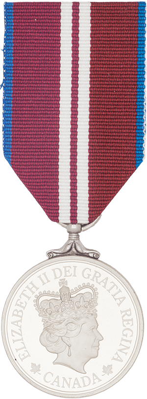 Image of Queen Elizabeth II Diamond Jubilee Medal